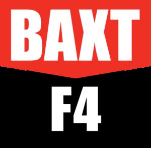 BAXT F4 logo